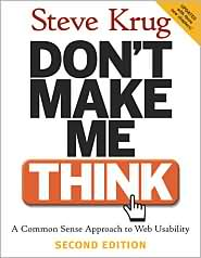 Don't Make Me Think, Book by Steve Krug